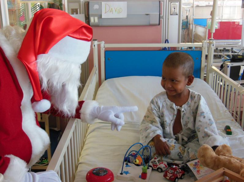 Convirtiéndonos en Santa Claus