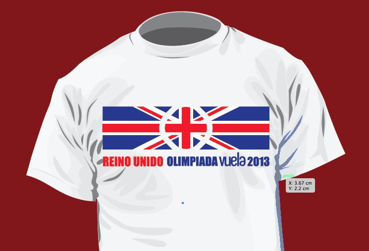Olimpiada Vuela - Playeras de participantes
