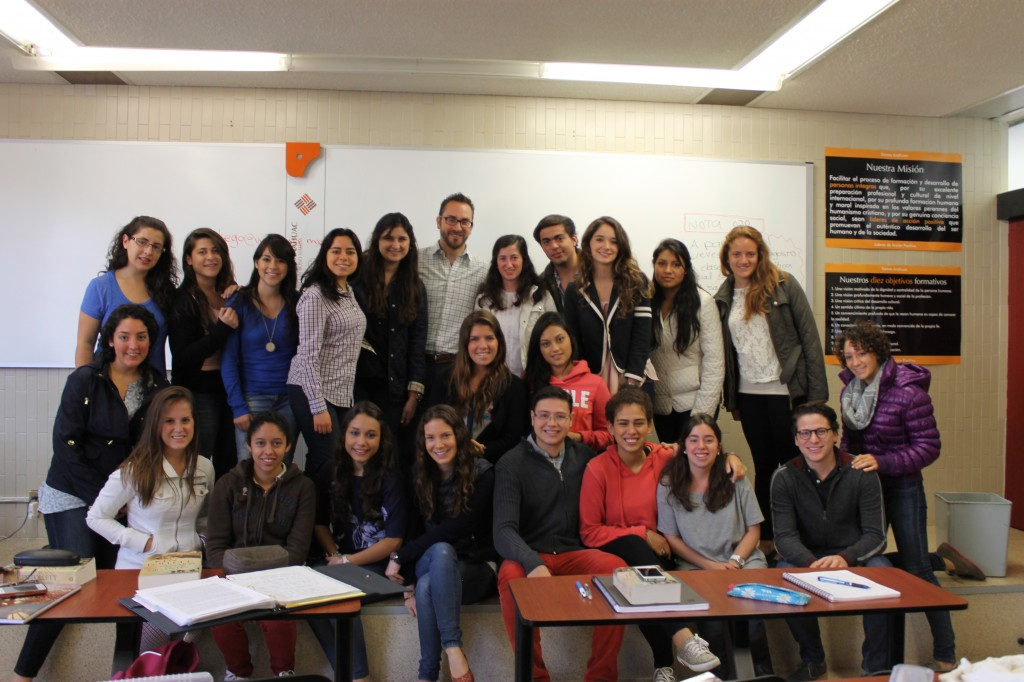 El grupo de la licenciatura de Dirección de Responsabilidad Social y Desarrollo Sustentable de la Universidad Anáhuac