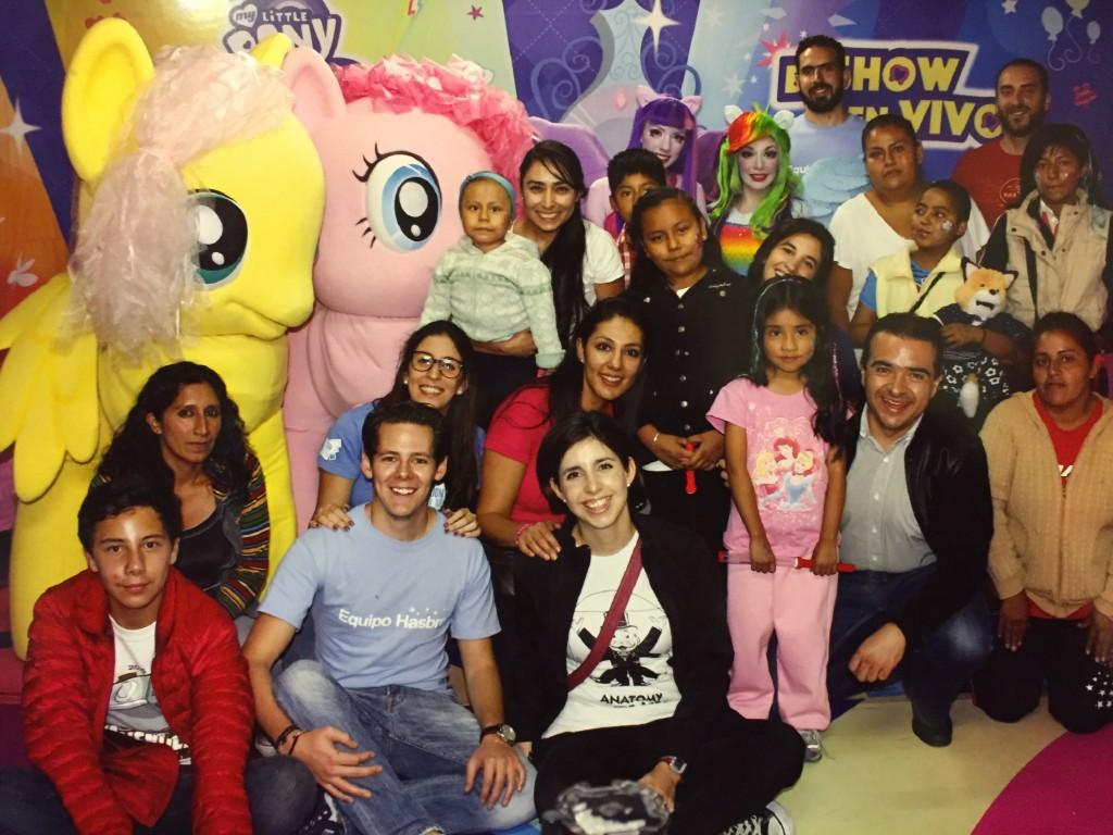 Hasbro y Vuela llevan a las niñas a My Little Pony en vivo