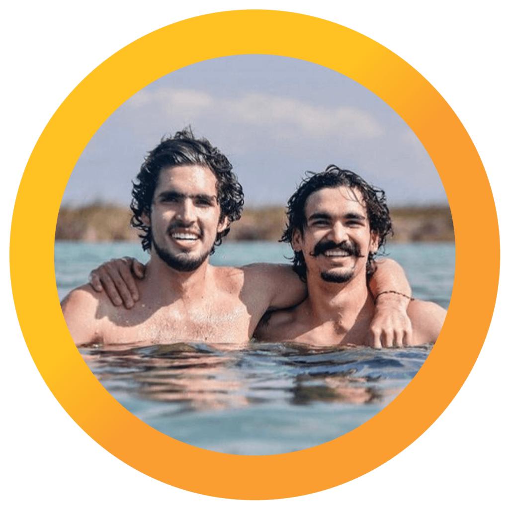 Rodrigo y Gerardo